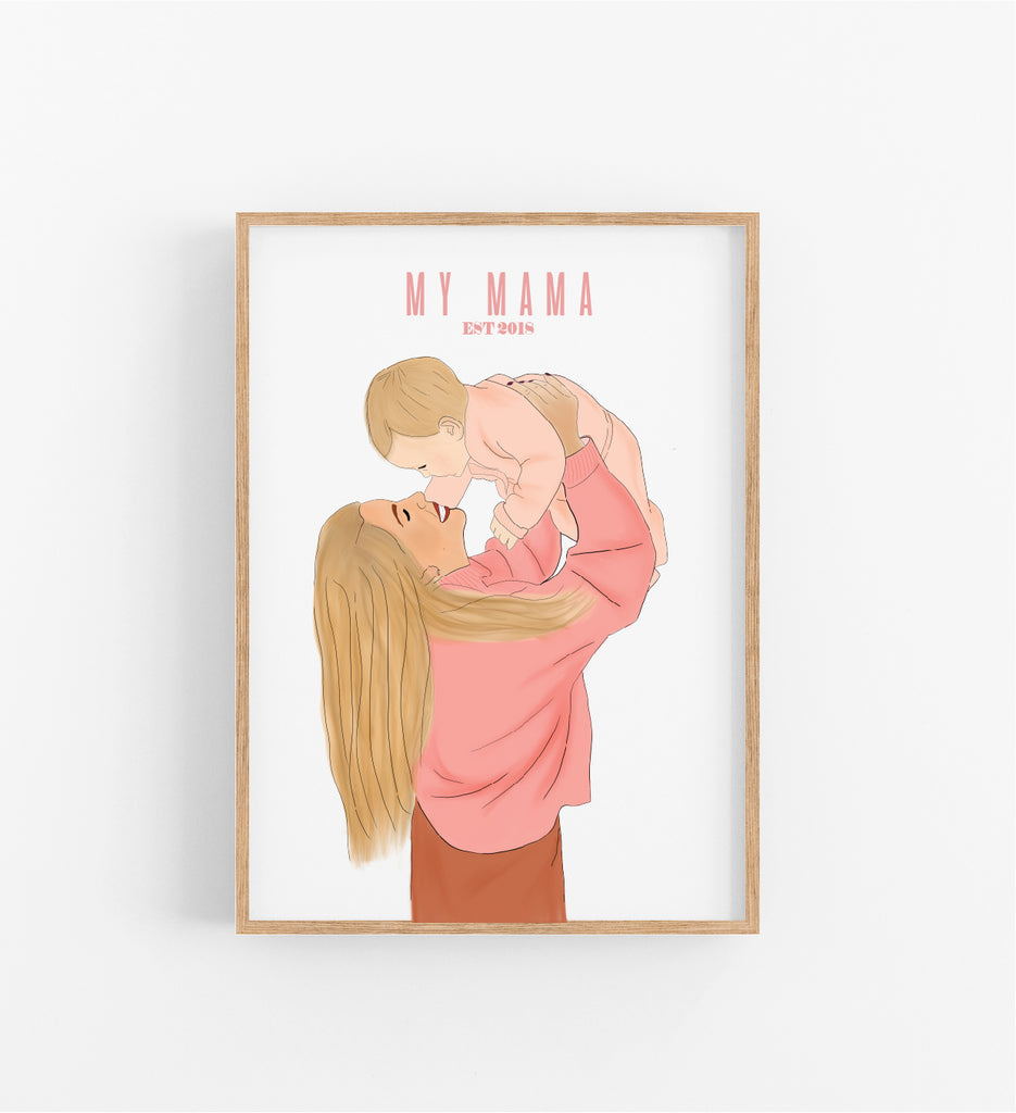 MY MAMA - ILLUSTRATION