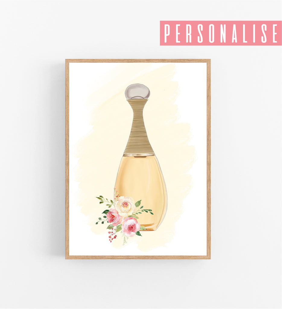PERFUME BOTTLE - CUSTOMISABLE