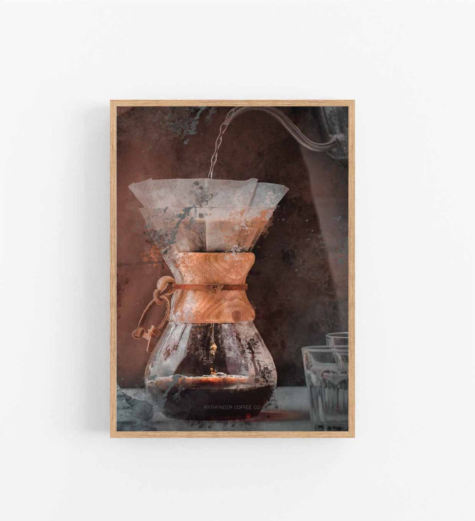 PATHFINDER COFFEE CHEMEX - BREW SERIES