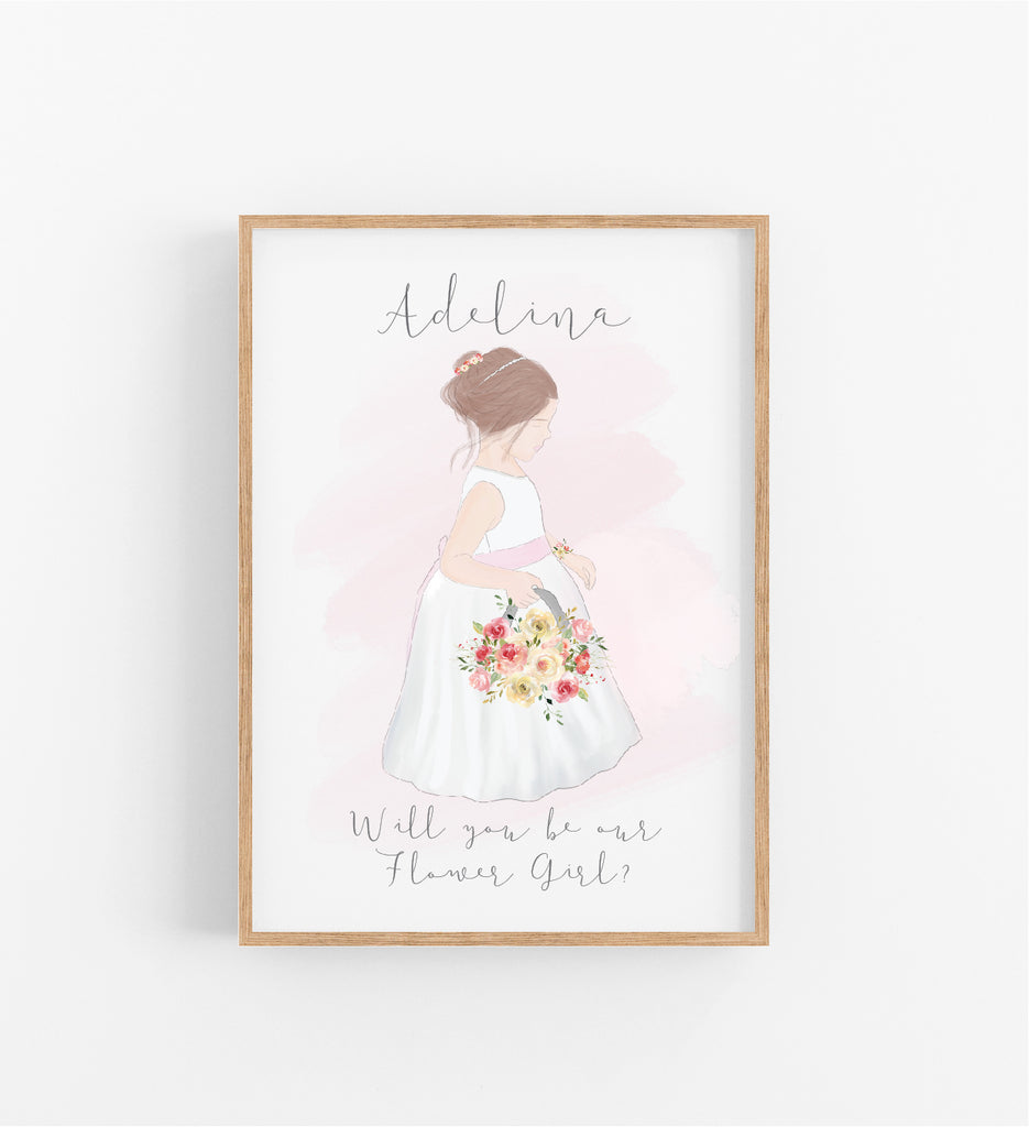 WILL YOU BE OUR FLOWER GIRL?