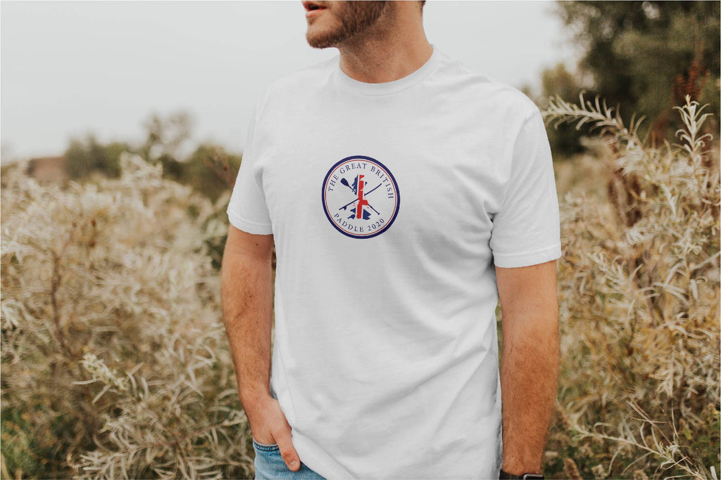 THE GREAT BRITISH PADDLE LOGO TEE