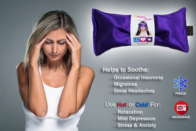 Lavender Eye Pillow - BlackoutDeals