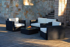 Patio Premium Furniture IL Giardino Bali Conversation Set by Modern Home Style