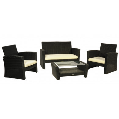 Patio Premium Furniture IL Giardino Charlotte - Conversation Set by Modern Home Style