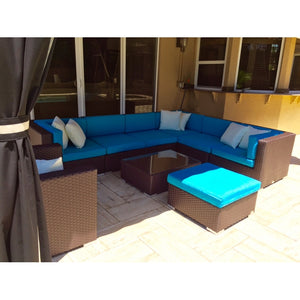 Patio Premium Furniture IL Giardino Poseidon- Sectional Set by Modern Home Style