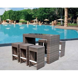 Patio Premium Furniture IL GIardino Maui - Bar Set by Modern Home Style
