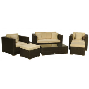 Patio Premium Furniture IL Giardino Soho - Conversation Set by Modern Home Style