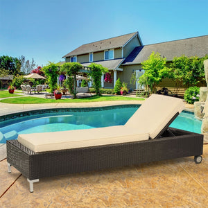 Patio Premium Furniture IL Giardino Valencia - Chaise Lounge by Modern Home Style