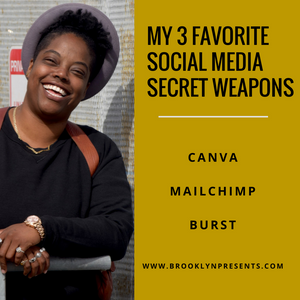 My 3 Favorite Social Media Secret Weapons