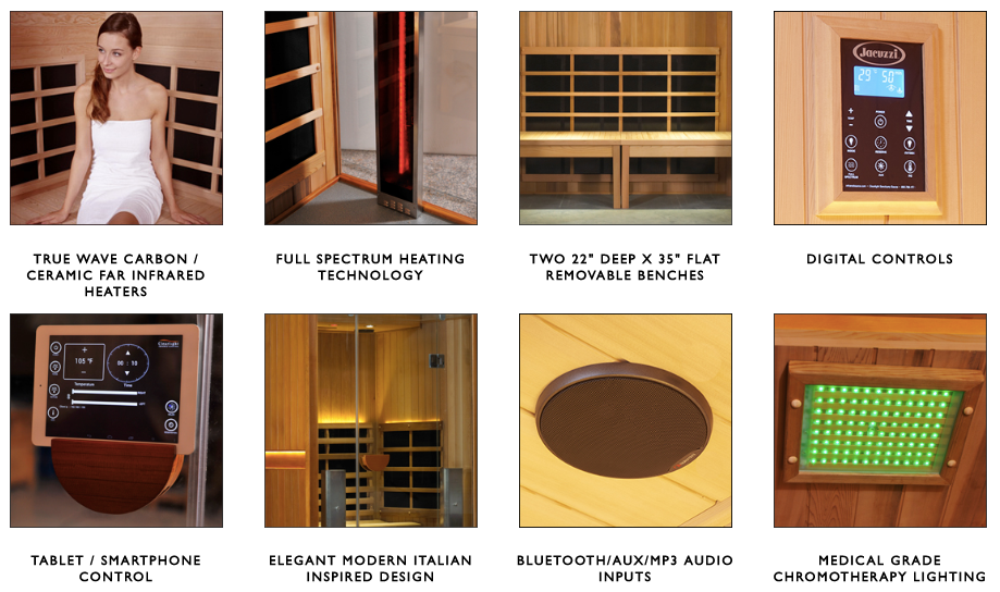 Hot Yoga Sauna Room Clearlight