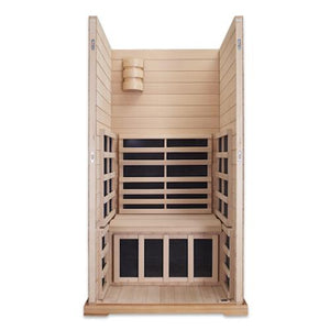 1 Person Sauna - Clearlight Premier IS-1 One Person Jacuzzi Infrared Sauna