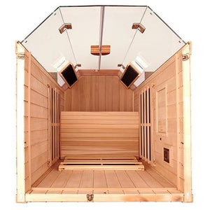 1 Person Sauna - Jacuzzi Clearlight Sanctuary 1 Person Far Infrared Sauna