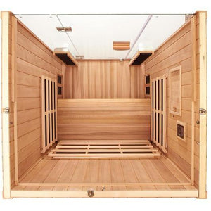 2 Person Sauna - Jacuzzi Clearlight Sanctuary 2 Person Far Infrared Sauna With Chromotherapy