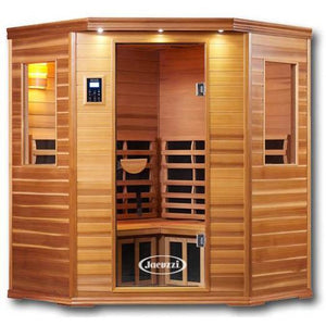 3 Person Saunas - Clearlight Premier IS-C Three Person Jacuzzi Infrared Home Sauna