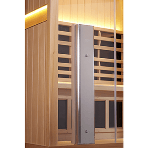 4 Person Sauna - Clearlight Jacuzzi Sanctuary 4 Person Corner Infrared Saunas