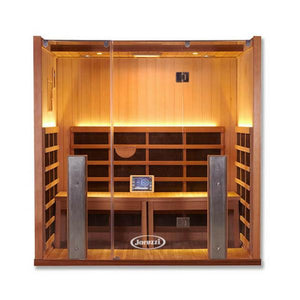 4 Person Sauna - Clearlight Sanctuary 4 Person Infrared Sauna And Hot Yoga Room