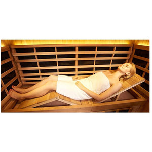 4 Person Saunas - Clearlight Outdoor Sanctuary 5 Person Infrared Sauna