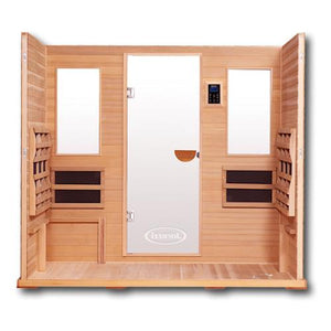 5 Person Sauna - Clearlight Jacuzzi Premier IS-5 Five Person Infrared Sauna