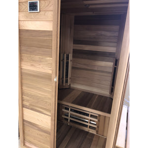 Saunacore Econo 1 Person Medical Infrared Sauna (Get 2 For Only 6999$ Until Dec 4th)