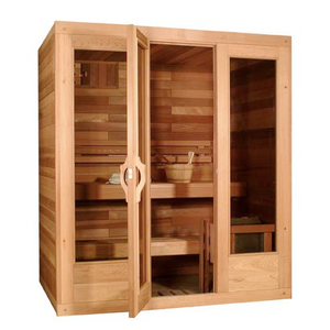 Traditional Modular Series Sauna by Saunacore