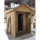 Classic Cabin Style Outdoor Sauna By Saunacore