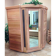 Traditional Neo-Classic Series Indoor Sauna by Saunacore