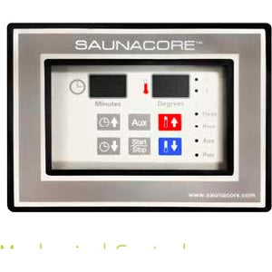 Heater - Mercuri Digital Time/Temp Sauna Control By Saunacore