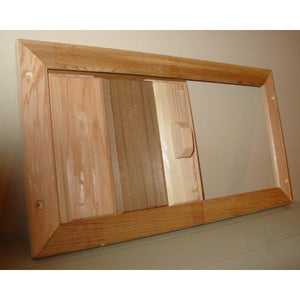 Saunas Accessories - Cedar Louver Vent Slider By Saunacore