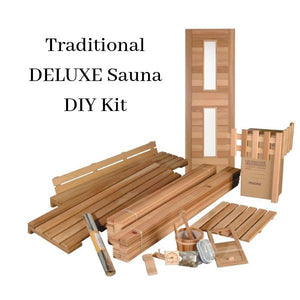 Saunas - DIY Deluxe In-Home Sauna Kit By Saunacore