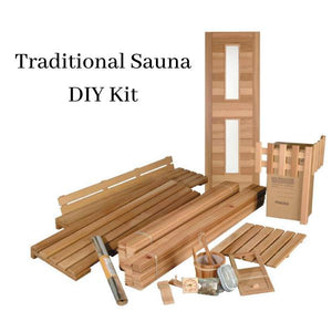 Saunas - DIY Sauna Series Traditional Standard Kits By Saunacore