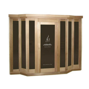 Traditional Saunas - Vu Classic 5 Person Sauna By Saunacore
