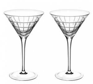 CHRISTOFLE GRAPHIK MARTINI, SET OF 2