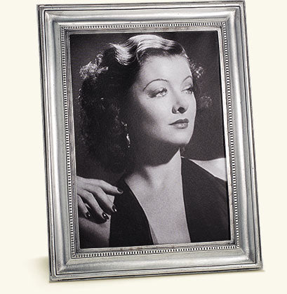 MATCH PEWTER TOSCANA RECTANGLE LARGE FRAME