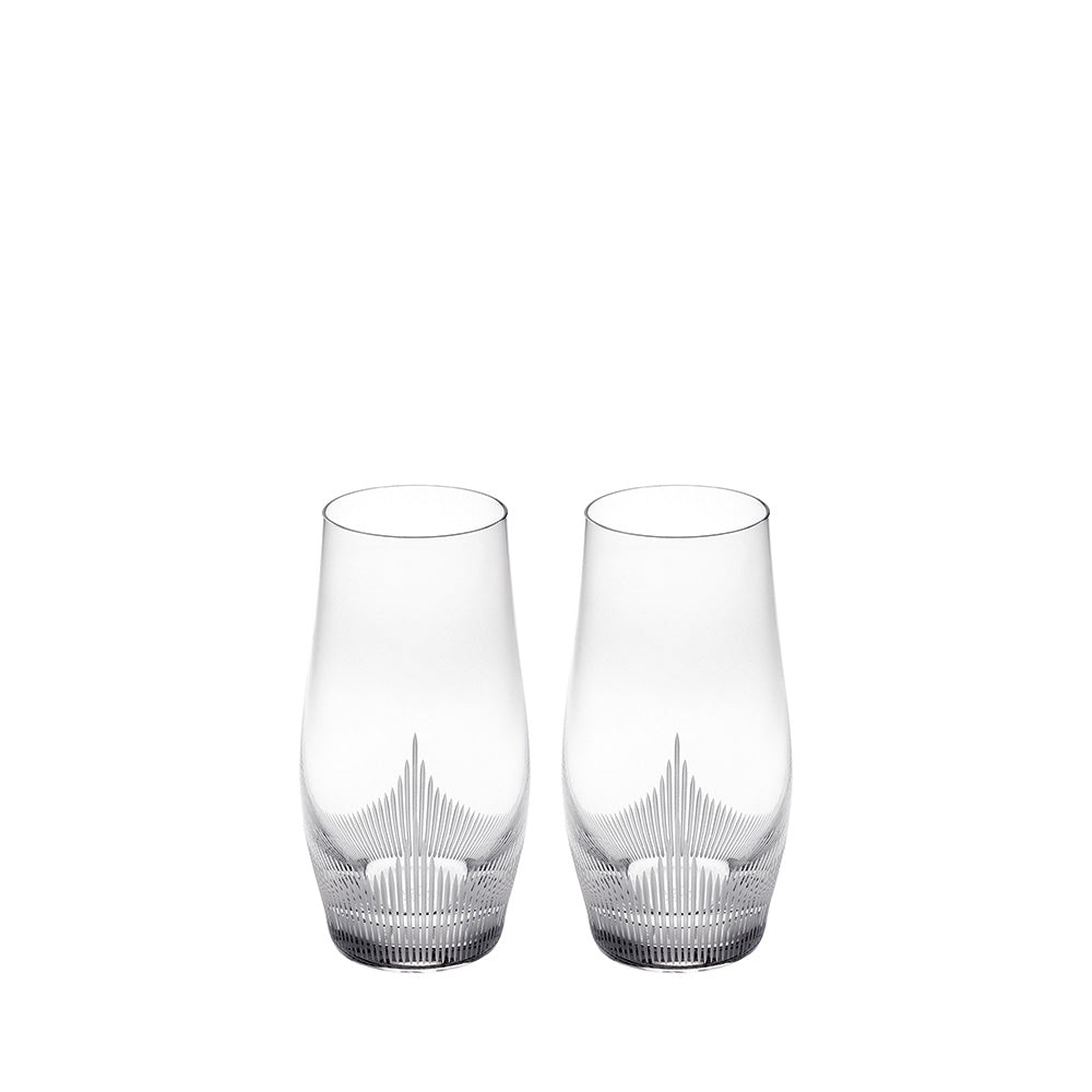 LALIQUE 100 POINTS LONGDRINK TUMBLER, SET OF 2