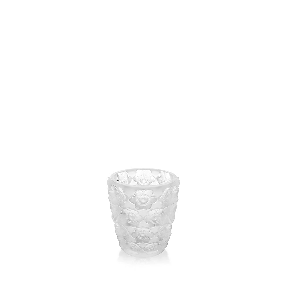 LALIQUE ANEMONES CLEAR VOTIVE