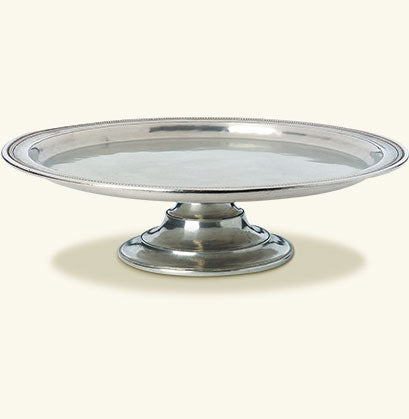 MATCH PEWTER TOSCANA PIE PLATE