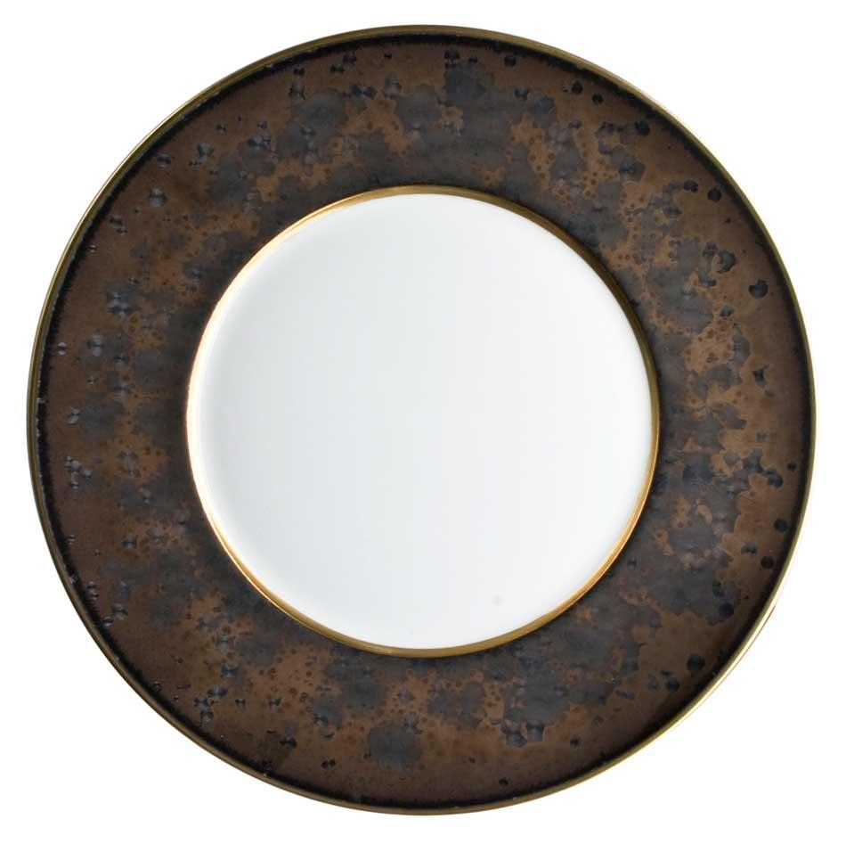JAUNE DE CHROME SALAD PLATE, (2011)