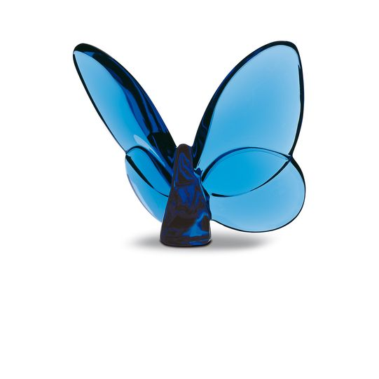 BACCARAT PAPILLION LUCKY BUTTERFLY, BLUE