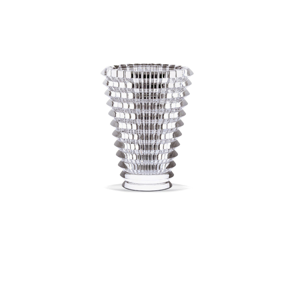 BACCARAT EYE SMALL VASE, CLEAR