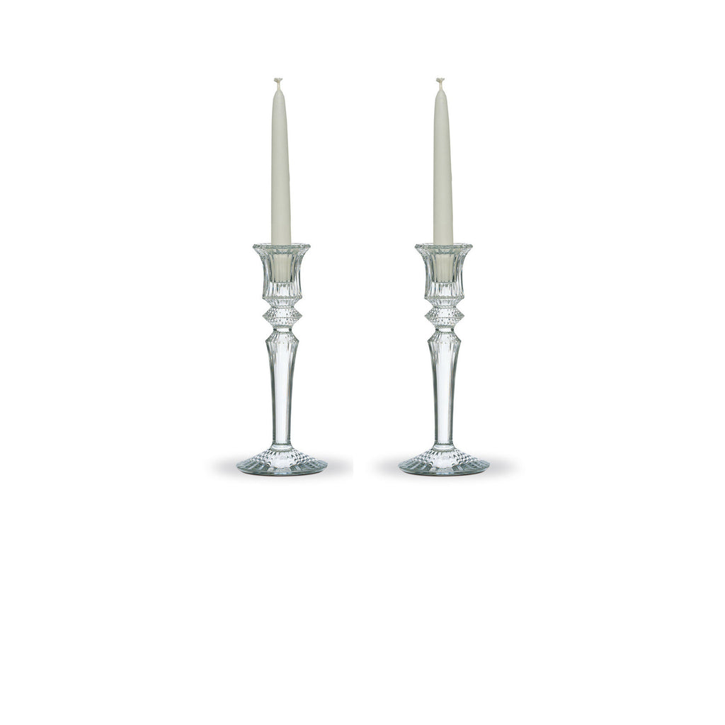 BACCARAT MILLE NUITS CANDLESTICK, SET OF 2