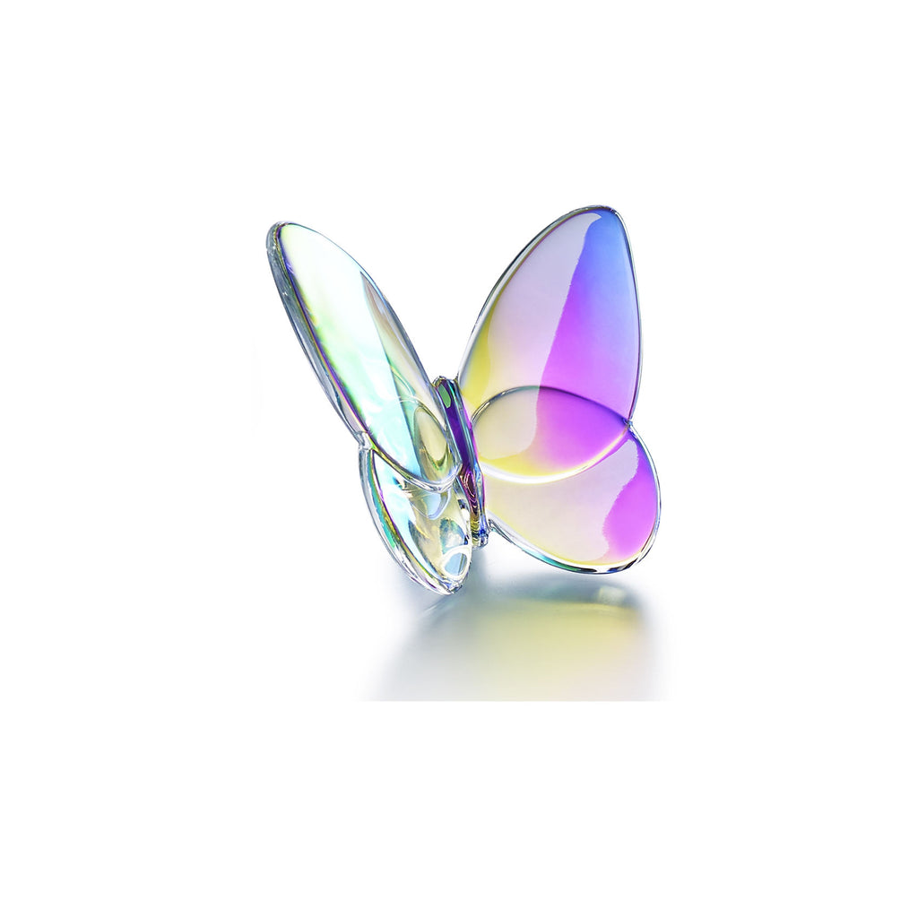 BACCARAT PAPILLION LUCKY BUTTERFLY, IRIDESCENT