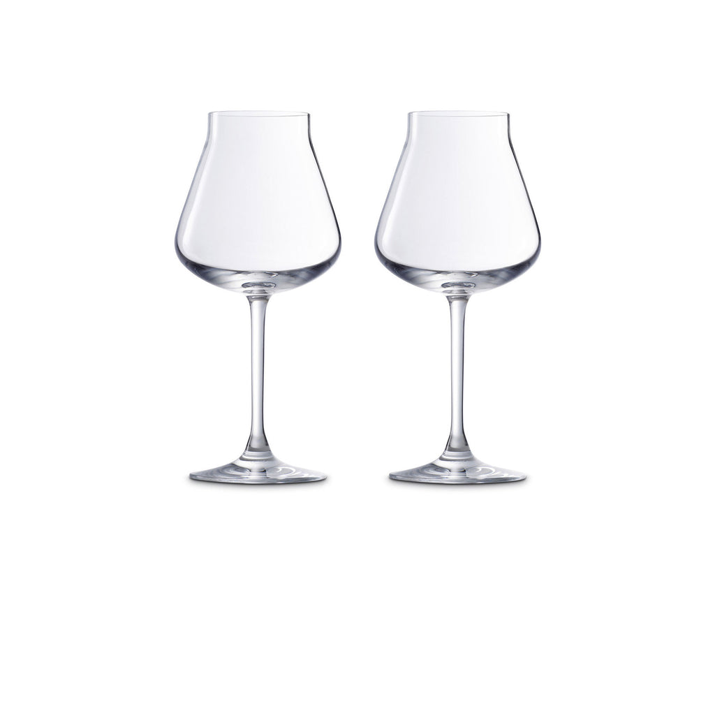 BACCARAT CHATEAU BACCARAT WHITE WINE, SET OF 2