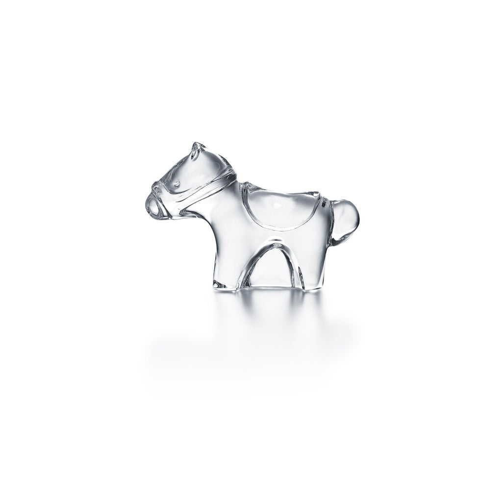 BACCARAT MINIMALS CLEAR HORSE