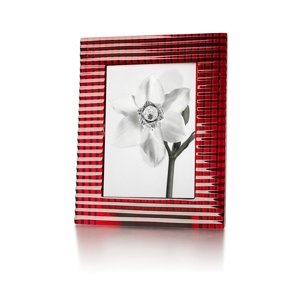 BACCARAT EYE PICTURE FRAME, 5*7, RED