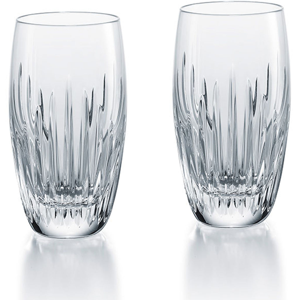 BACCARAT MASSENA HIGHBALLS, SET OF 2