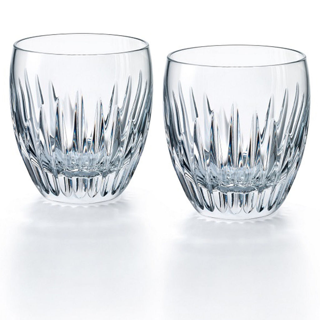 BACCARAT MASSENA TUMBLERS, SET OF 2