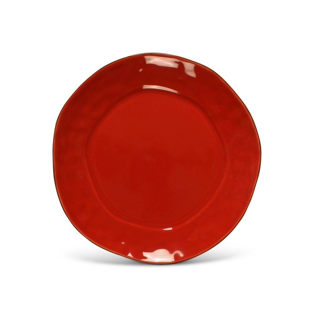 SKYROS DESIGNS CANTARIA BREAD & BUTTER PLATE, POPPY RED