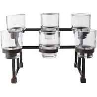JAN BARBOGLIO CHAPEL 6 CANDLE CANDLEHOLDER
