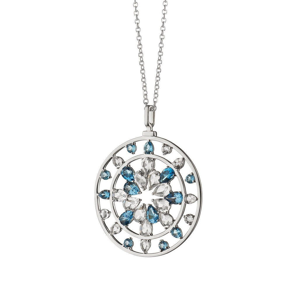 "MONICA RICH KOSANN ""CHANGE"" KALEIDOSCOPE PENDANT IN STERLING SILVER"