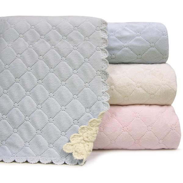A SOFT IDEA NANA BLANKET/IVORY